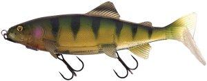Fox Rage Gumová Nástraha Replicant Trout Shallow UV Stickleback-23 cm 130 g