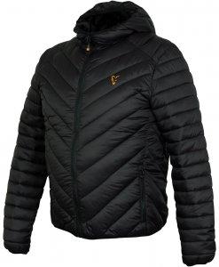 Fox Bunda Collection Quilted Jacket Black Orange-Velikost S