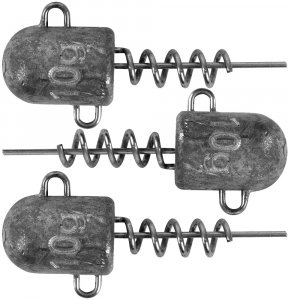 Fox Rage Jigová Hlavička Corkscrew Bullet Jig Heads 3 ks-15 g