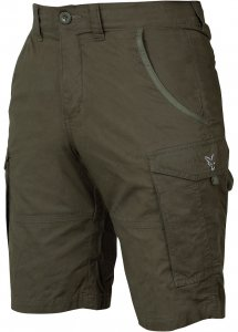 Fox Kraťasy Collection Green Silver Combat Shorts-Velikost S