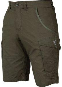Fox Kraťasy Collection Green Silver Combat Shorts-Velikost XXXL