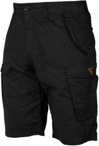 Fox Kraťasy Collection Black Orange Combat Shorts-Velikost S