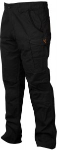 Fox Kalhoty Collection Black Orange Combat Trousers-Velikost XXXL