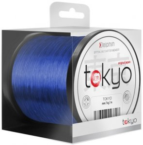Delphin Vlasec Tokyo Modrý-Průměr 0,369 mm / Nosnost 22 lb / Návin 3700 m