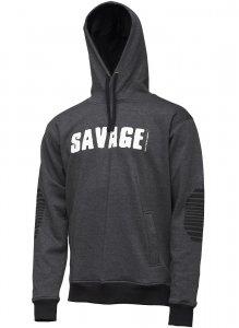 Savage Gear Mikina Logo Hoodie-Velikost XXL