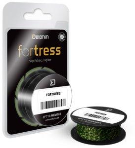 Delphin Návazcová Šňůra Hookline Fortrees Žluto Zelená 20 m-Nosnost 25 lb