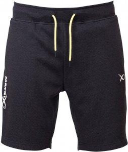 Matrix Kraťasy Minimal Black Marl Jogger Shorts-Velikost XXXL