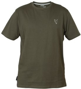 Fox Triko Collection Green Silver T Shirt-Velikost S