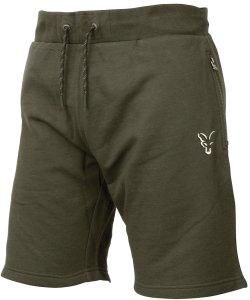Fox Kraťasy Collection Green Silver Lightweight Shorts-Velikost S