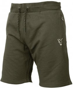 Fox Kraťasy Collection Green Silver Lightweight Shorts-Velikost XXXL