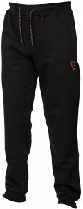 Fox Tepláky Collection Black Orange Joggers-Velikost XXXL