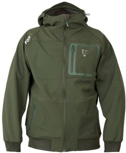Fox Mikina Collection Green Silver Shell Hoodie-Velikost XXXL