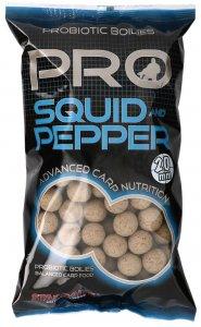 Starbaits Boilie Pro Squid Pepper - 20 mm 2,5 kg