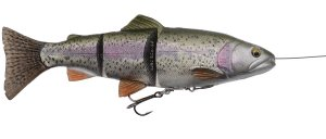 Savage Gear Gumová Nástraha Pstruh 4D Line Trhu Trout MS Rainbow-27,5 cm 290 g