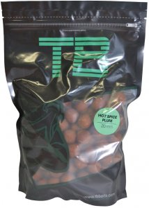 TB Baits Boilie Hot Spice Plum-1 kg 24 mm