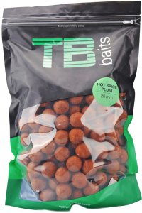 TB Baits Boilie Hot Spice Plum-2,5 kg 20 mm