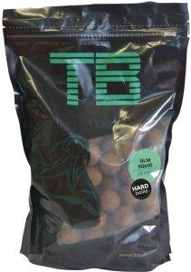TB Baits Hard Boilie GLM Squid Strawberry - 250 g 24 mm