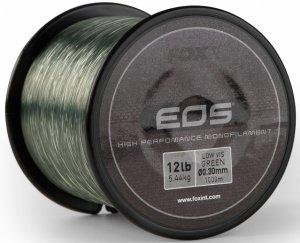 Fox Vlasec EOS Carp Mono Zelený-1000 m 0,30 mm 5,44 kg