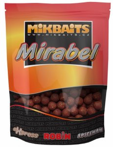 Mikbaits Boilie Mirabel 250 g 12 mm-Oliheň