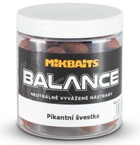 Mikbaits Boilie Spiceman Balance Pikantní Švestka 250 ml - 24 mm