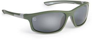 Fox Brýle Sunglasses Green Silver Grey Lense