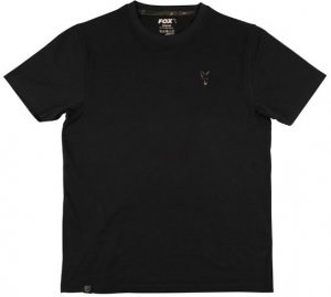 Fox Triko Black T shirt - XXXL