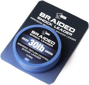 Nash Braided Shock Leader 25 m - 30 lb - 13,6 kg