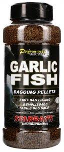 Starbaits Pelety Bagging 700 g - Garlic Fish