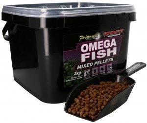 Starbaits Pelety Omega Fish Mix 2 kg