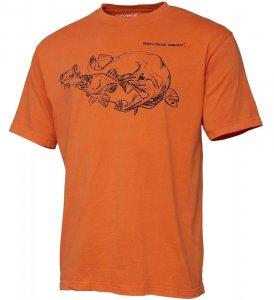 Savage Gear Triko Cannibal Ink Tee Sun Orange - XL