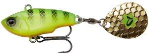 Savage Gear Třpytka Fat Tail Spin Sinking Firetiger - 8 cm 24 g