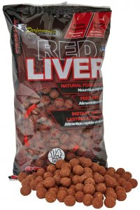 Starbaits Boilie Red Liver-14 mm 1 kg