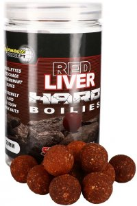 Starbaits Boilie Red Liver Hard 200 g - 20 mm