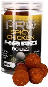 Starbaits Boilie Pro Spicy Chicken Hard 200 g - 24 mm
