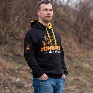 Mikbaits Mikina Fans team černá - Velikost L