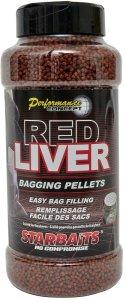 Starbaits Pelety Red Liver Bagging 700 g
