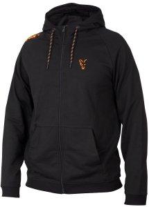 Fox Mikina Collection Orange Black Lightweight Hoodie-Velikost L