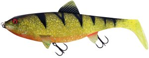 Fox Rage Gumová Nástraha Giant Replicant Ultra UV Perch - 27 cm 218 g