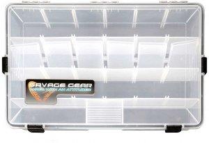 Savage Gear Krabička Waterproof boxes-Rozměry 35,5 x 23 x 5 cm