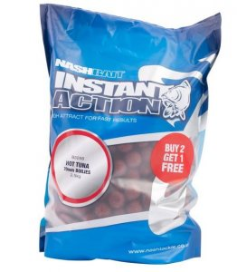 Nash Boilies Instant Action Hot tuna 20mm 1kg