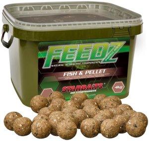 Starbaits Boilies FEEDZ Fish & Pellets 4kg - 20mm