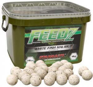 Starbaits Boilies FEEDZ White Fish Pellets 4kg - 20mm