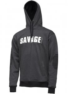 Savage Gear Mikina Logo Hoodie-Velikost M
