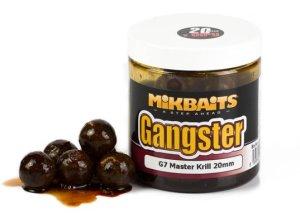 Mikbaits Boilie Gangster v dipu 250ml - G7 Master Krill 20mm