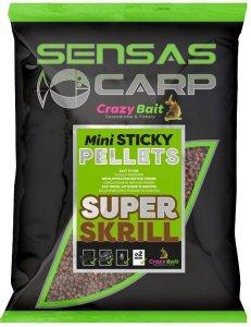 Sensas Pelety Mini Sticky Pellets 700g - Krill