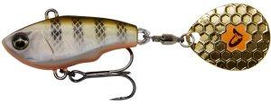 Savage Gear Třpytka Fat Tail Spin Sinking Perch - 6,5 cm 16 g