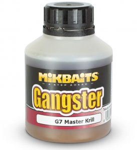 Mikbaits booster gangster G7 master krill 250 ml