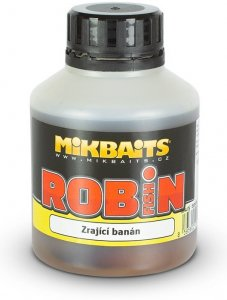 Mikbaits Booster Robin Fish Zrající banán 250 ml