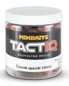 Mikbaits Rozpustné Boilies Tactiq Česnek Speciál 250 ml - Průměr 16 mm
