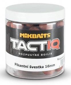 Mikbaits Rozpustné Boilies Tactiq Pikantní Švestka 250 ml - Průměr 16 mm